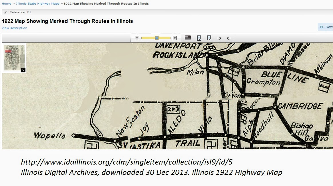 RootDig.com: Swastika Trail and Old Highway Maps