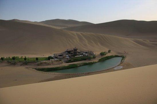 oasis yang sangat indah
