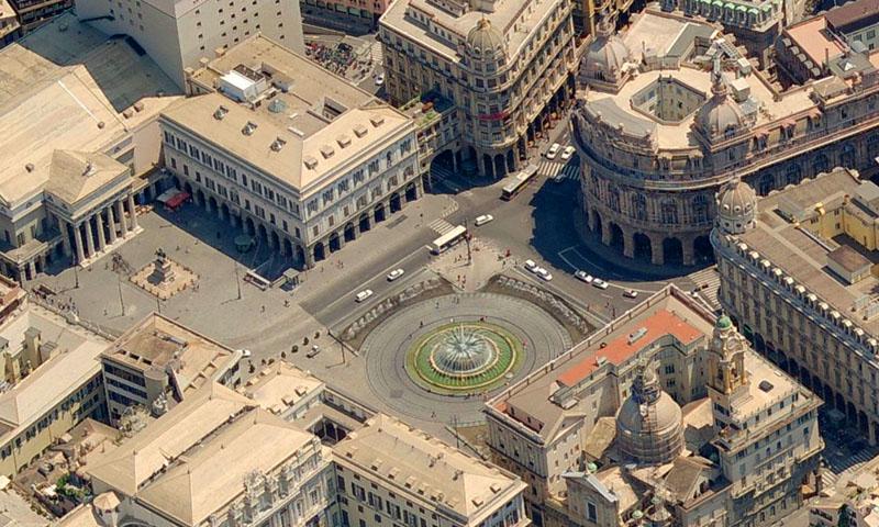 Guida Di Genova Mangiare Dormire Vedere Genova Piazza De