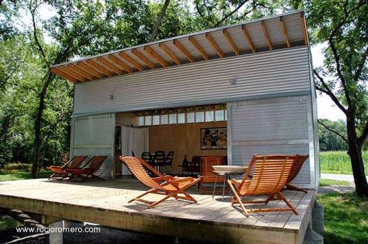 Arquitectura De Casas Caba A En Campamento De Pescadores