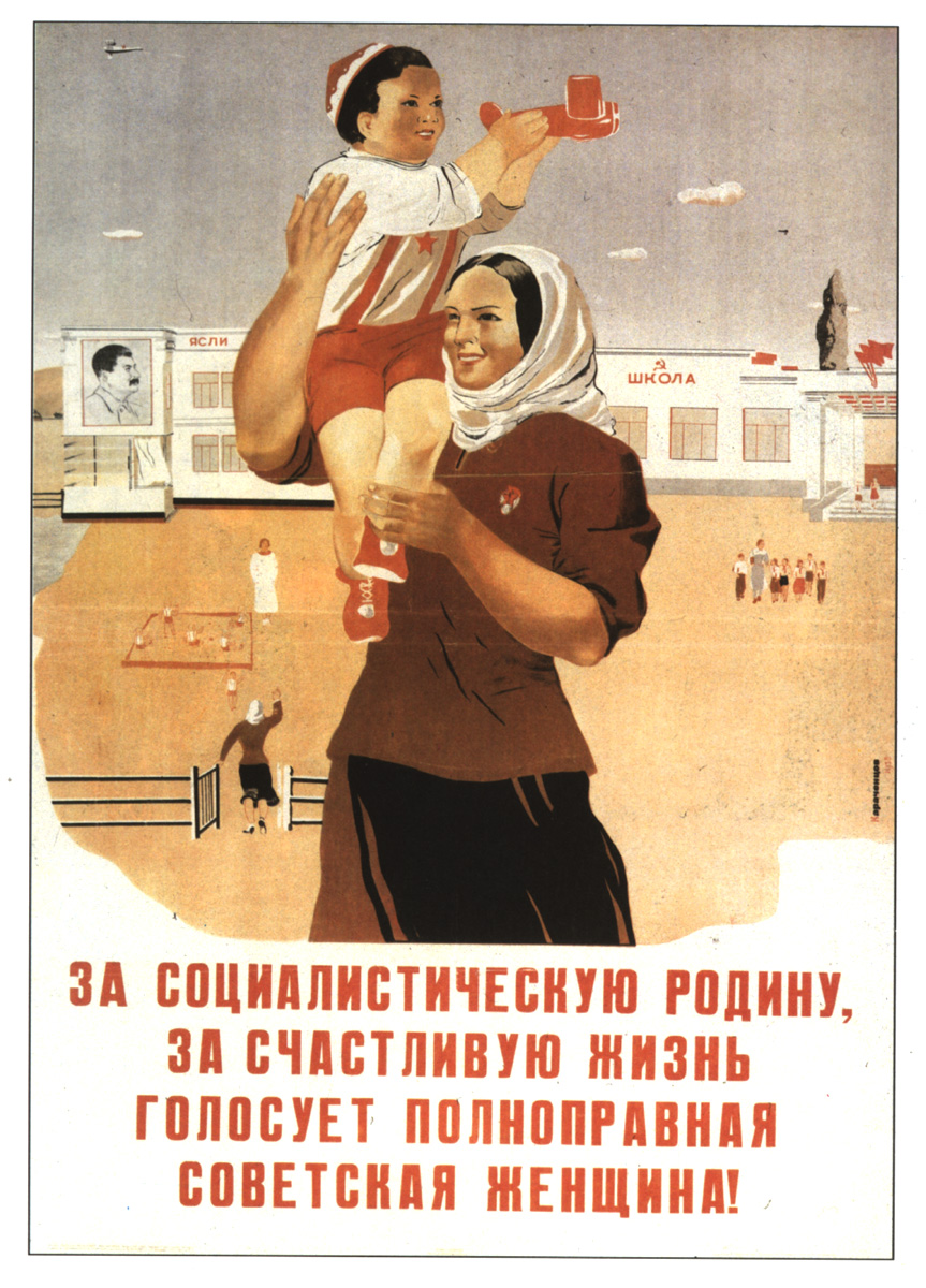 women in the soviet union Very few of us realize that the vast majority of women over 30 in the soviet union were ugly, fat, untidy, with bad teeth but that wasn't their fault.