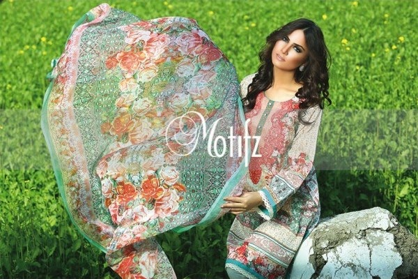 Motifz lawn summer collection 2015