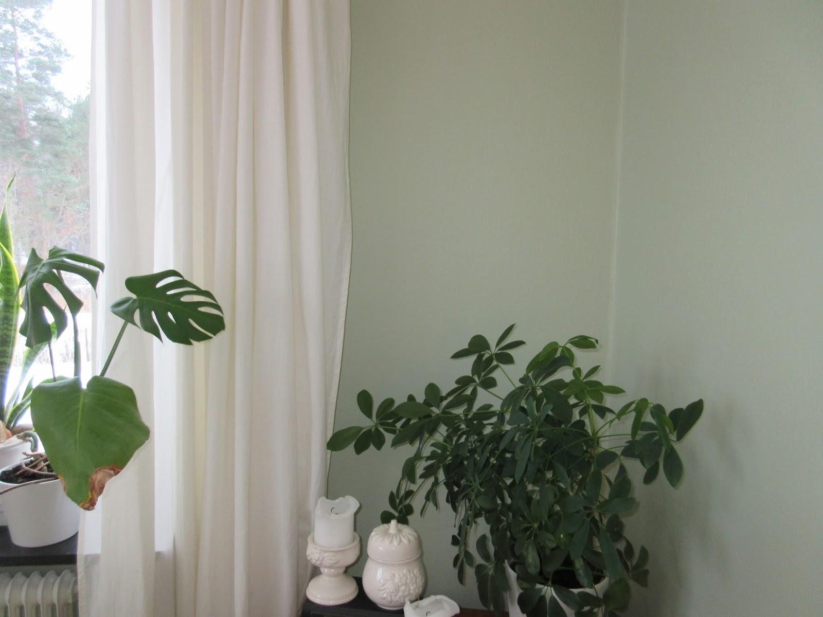 Pias planer: vardagsrummet   50 nyanser av grönt....