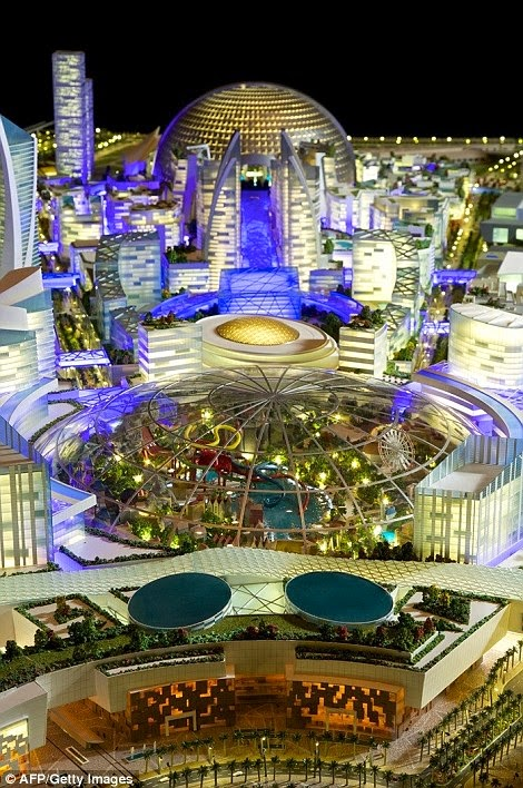 mall of the world dubai