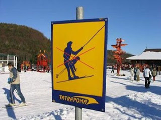 Proibido... enquanto faz ski