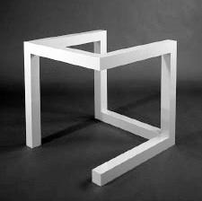 Het postmodernisme minimal art for Minimal art kunst