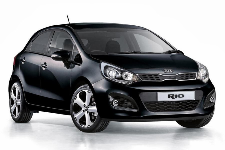 Kia Rio VR7 5-Door (2014) Front Side