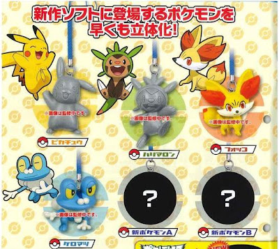 Pokemon XY Netsuke Figure Oct 2013 TTA