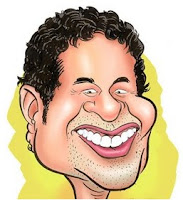 Sachin Tendulkar cartoon