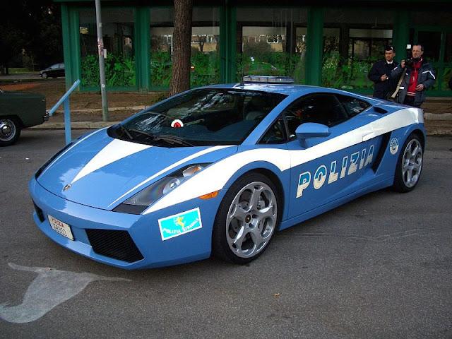 Italian State Police Car
