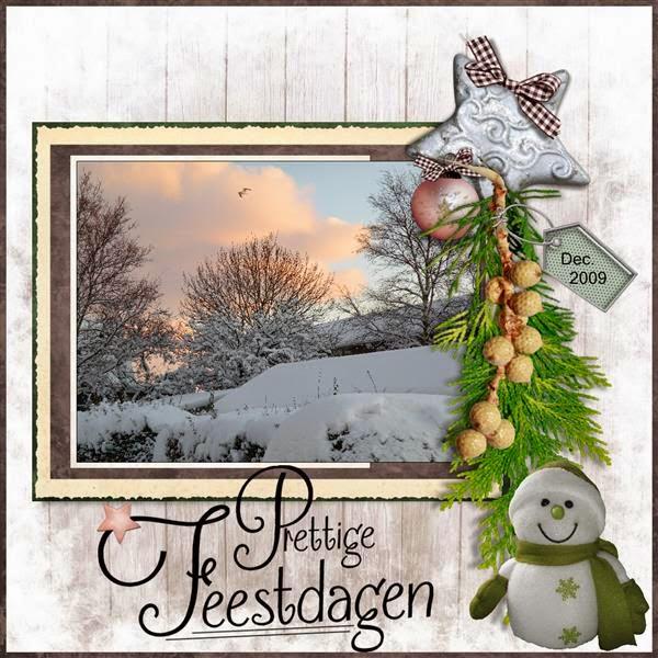 2e lo - Prettige Kerstdagen