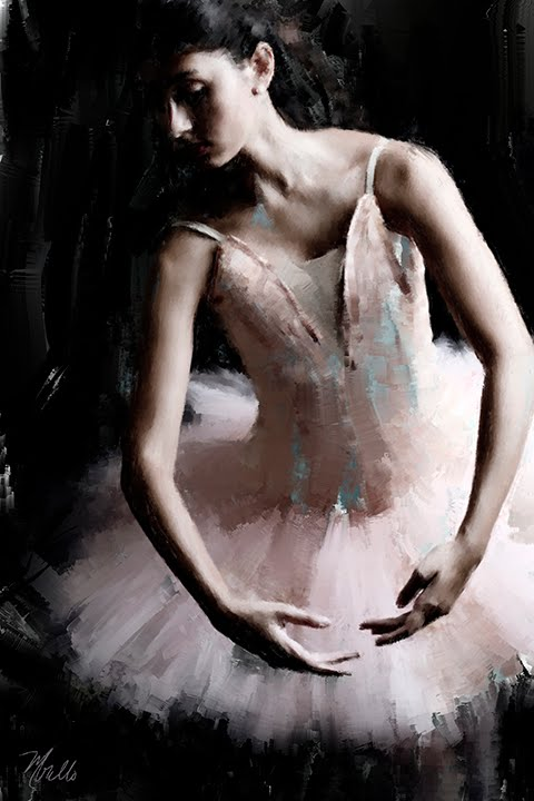 The Ballerina painting 2