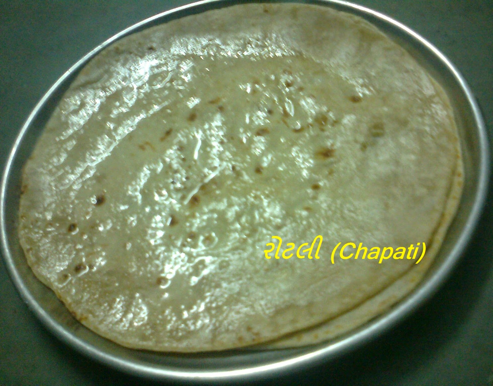 wheat flour rotli recipe