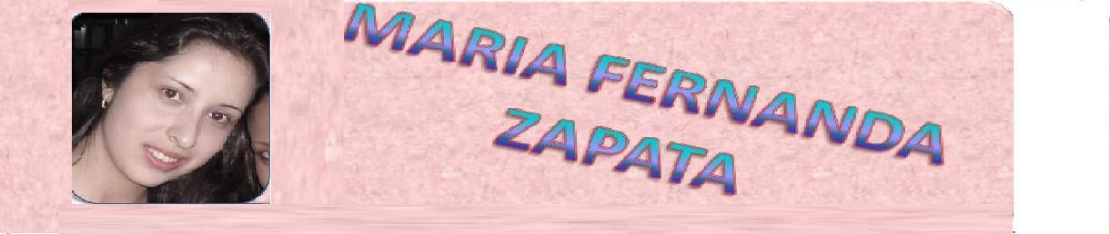 MARÍA FERNANDA ZAPATA BOADA