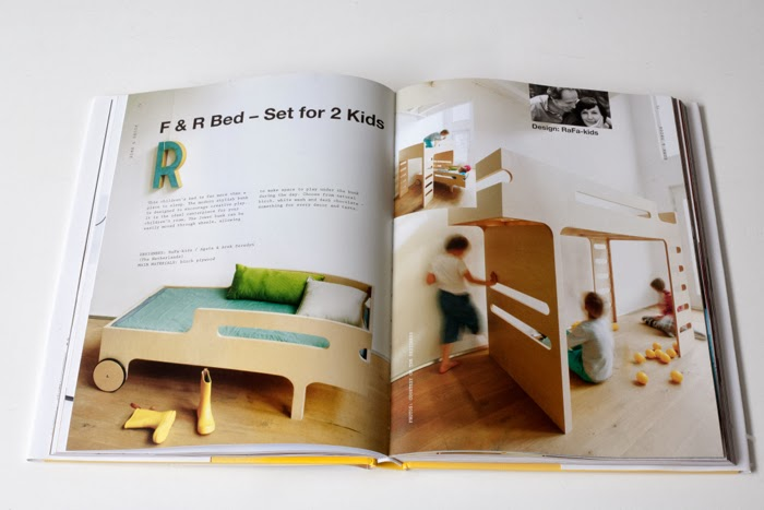 bunk bed toddler bed Rafa-kids in braun book kids' design