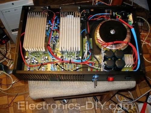 400w Stereo Marshall Leach Amplifier