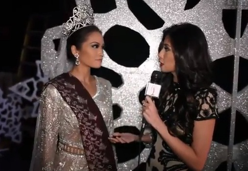 "Shamcey Supsup interviews Miss Philippines Janine Tugonon ""On the Scene"""