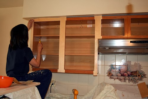 With Either Route You Take Painting Or Wood Finish You Will Need New Cabinet Doors Building Custom Cabinet Doors Is Usually Out Of The Scope Of Most Do