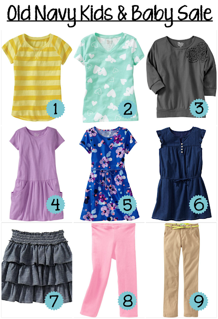 My Picks from Old Navy Kids & Baby Sale (Extended!) — A Modern Mrs.