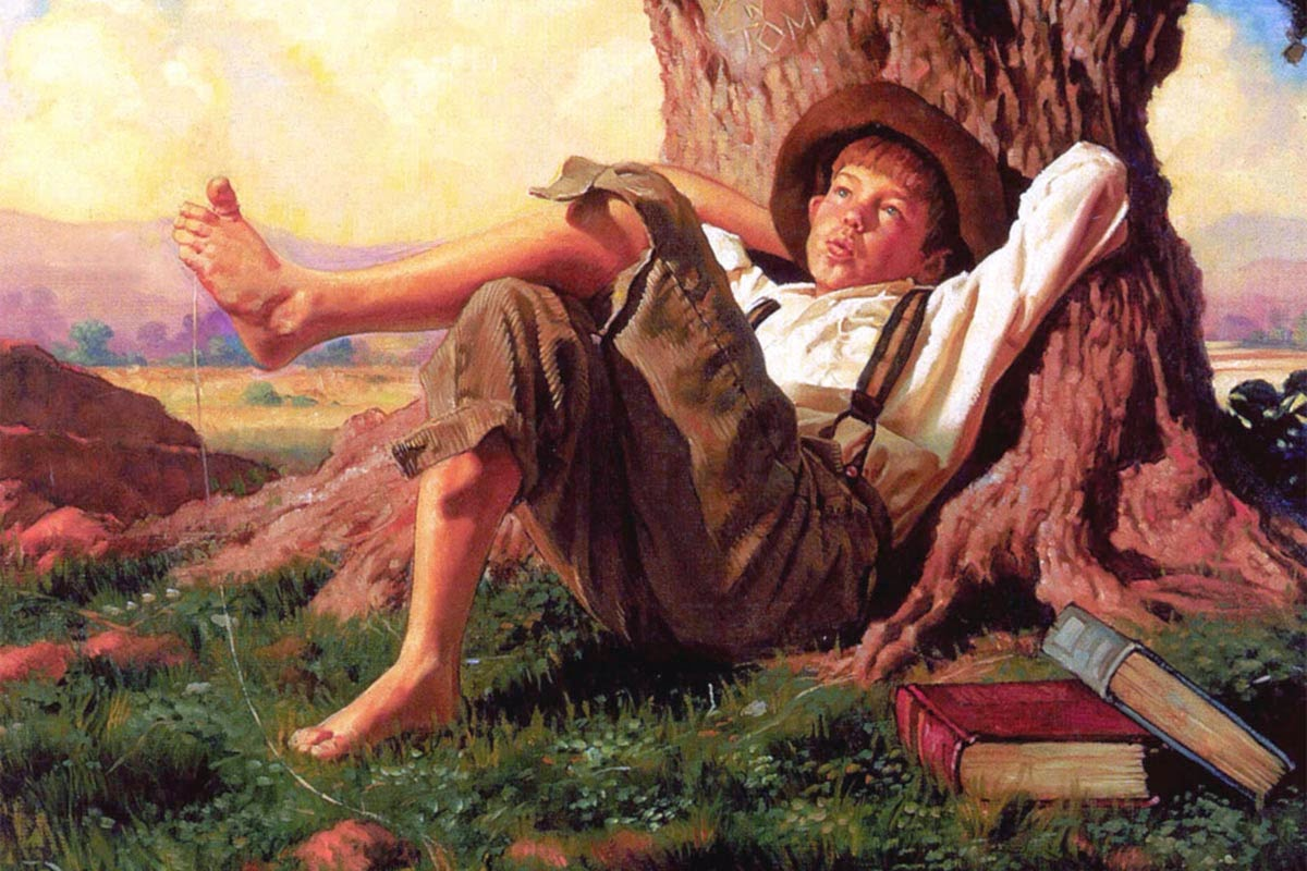 the friendship of tom sawyer and Library excerpt from the adventures of huckleberry finn about blog careers contact donate faq partners press research security commonlit for leaders.
