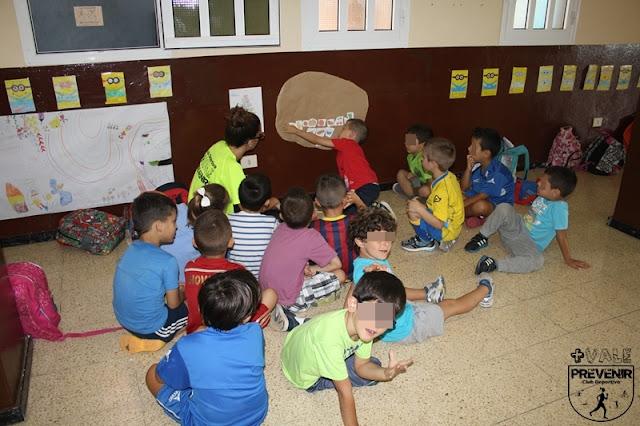 piramide nutricional escuela verano infantil