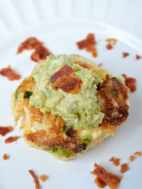 Avocado Crab Cakes With Bacon & Spicy Avocado Remoulade