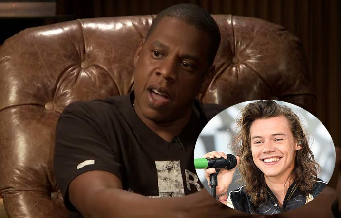 """One Direction Star Harry Styles Will Become The """"Biggest Star In The World When I Sign Him"""" - Jay Z"""