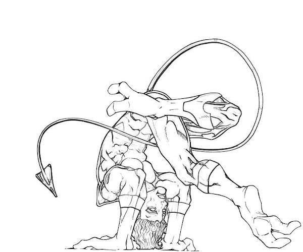 Nightcrawler Coloring Pages Printable