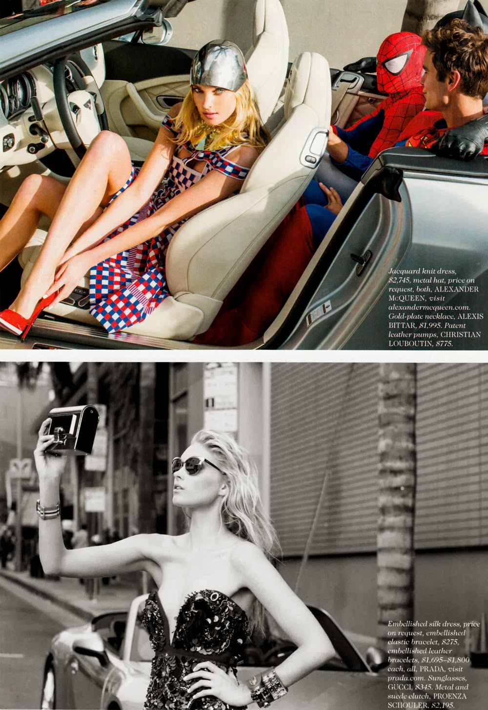 Elsa Hosk HQ Pictures Elle US Magazine Photoshoot March 2014