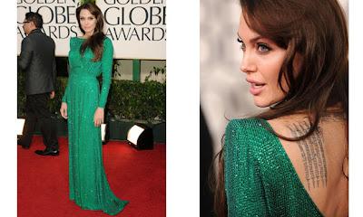 Fotos de Vestidos da Angelina Jolie
