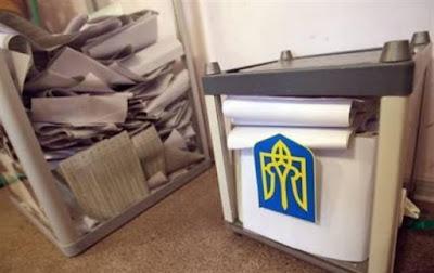 В Украине состоялись выборы в местные органы власти