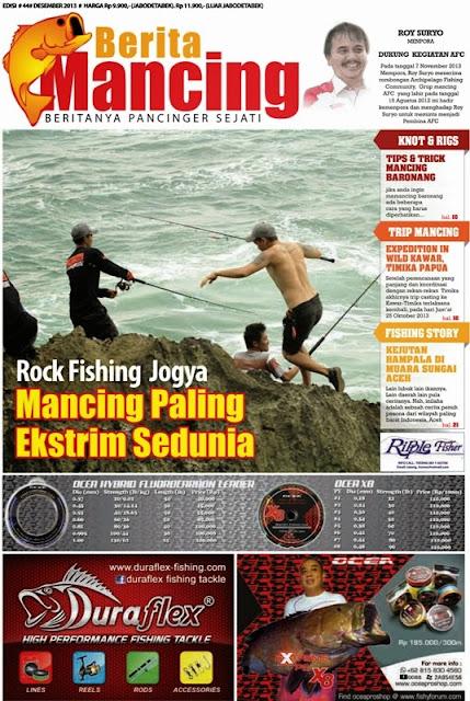 Berita Mancing Edisi 44 Desember 2013