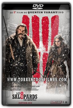 Baixar Os Oito Odiados (2016) Torrent - Dublado DVDScr Dual Áudio