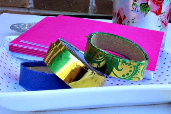 make your own washi tape