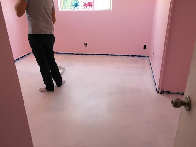 A Little Blueberry: Lemon\'s Big Girl Room Makeover & Glitter Floor ...