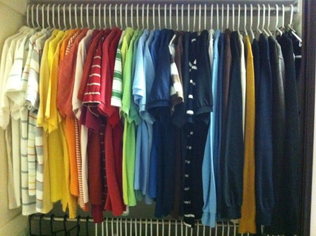 Incroyable Organization Is Extremely Important To Us As Our Mom Taught Us How To Color  Coordinate Our Closet And Keep Things Clean And Orderly At A Very Young Age.