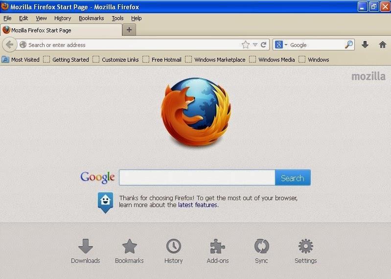 free mozilla firefox latest edition for windows xp