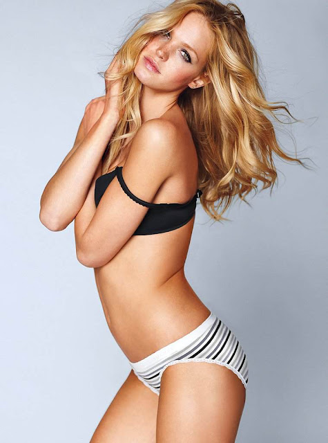 Erin Heatherton sexy with lingerie