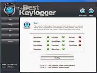 The Best Keylogger 3.54 Build 1006 Software
