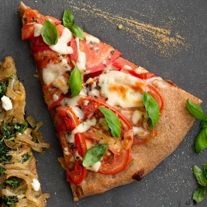 Tomato and Mozzarella Pizza Recipe,