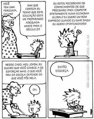 Mídia e Educação: Calvin e a educação ao longo da vida...