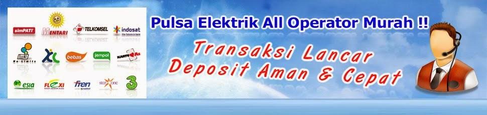 Distributor Pulsa All Operator  dan Token PLN Murah Kabupaten Gorontalo