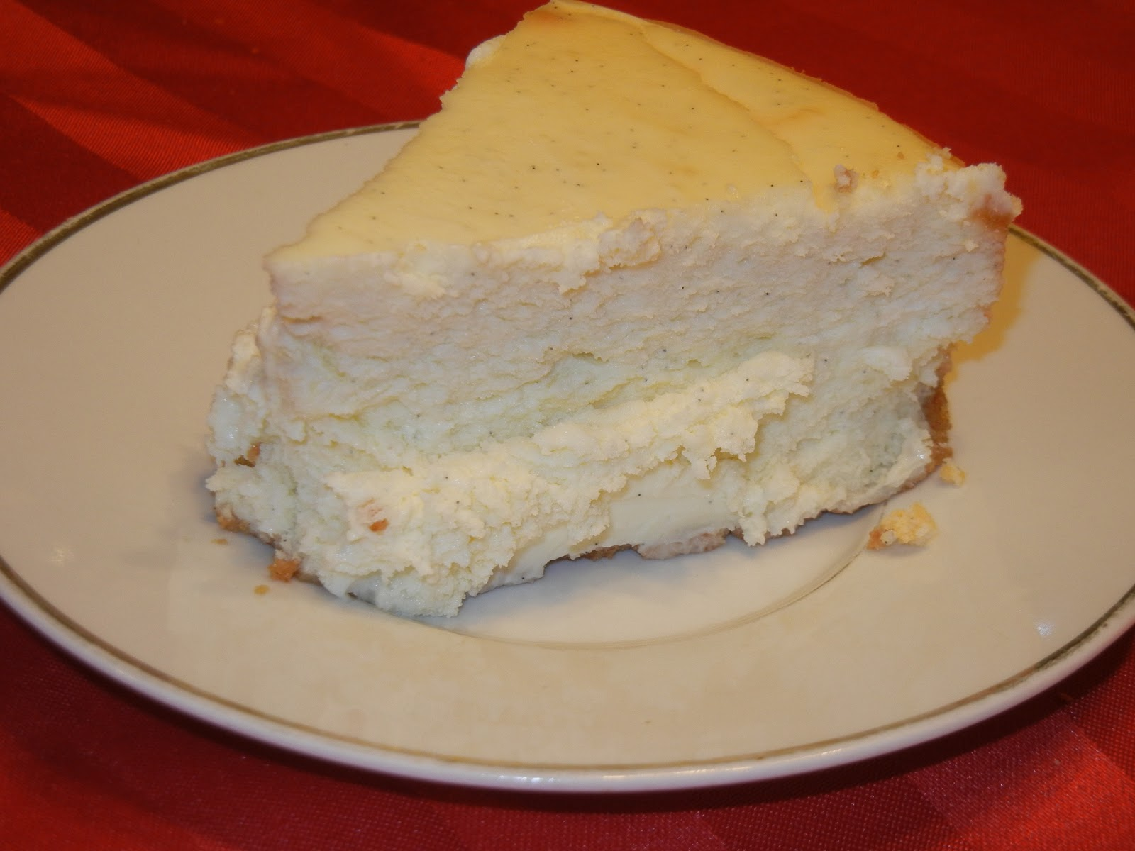 Vanilla Bean Cheesecake - Will Cook For Smiles