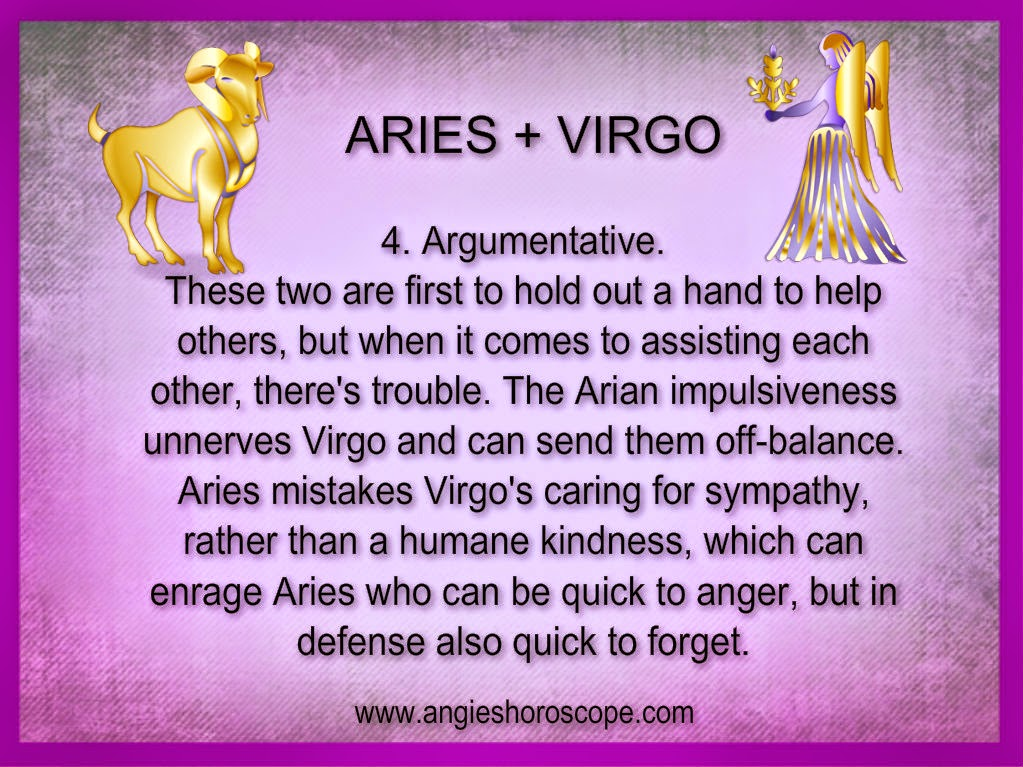 aries virgo woman love compatibility