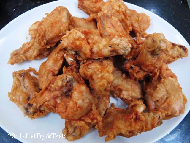 Resep Membuat Sayap Ayam Goreng Belacan Yang Enak