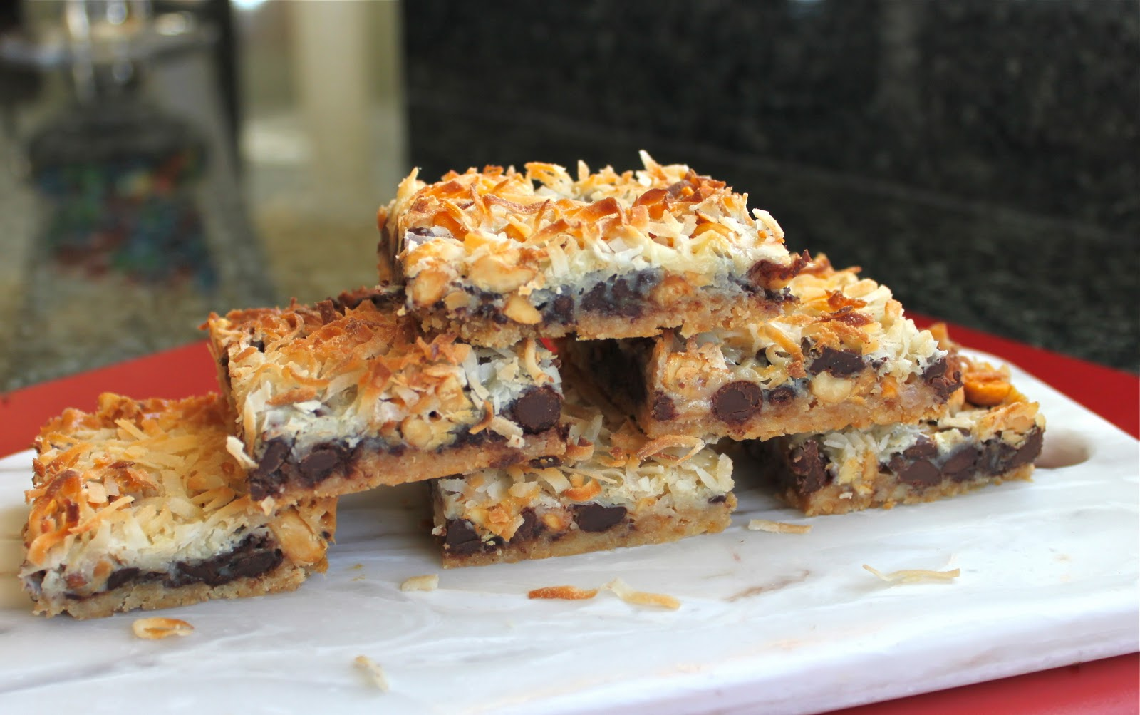 Seven Layer Cookies Recipe — Dishmaps