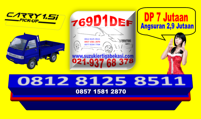 PROMO CARRY PICKUP DP 7 JTan Hub : 021.93768378 / 085715812870