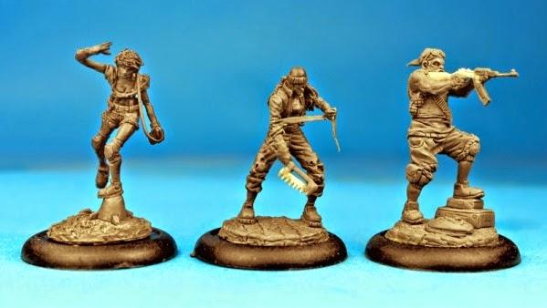Raid & Trade miniatures