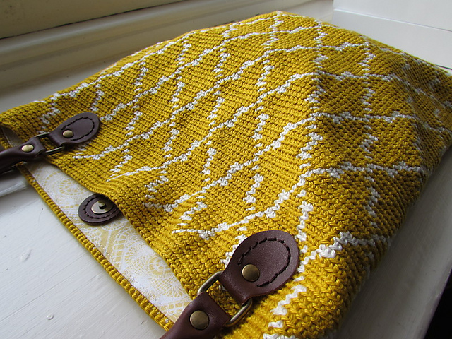 free crochet pattern moroccan tote