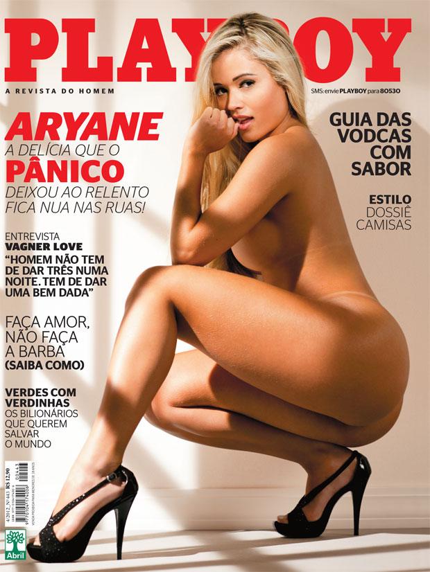Playboy Divulga Nos Fotos Da E Panicat Aryane Steinkopf